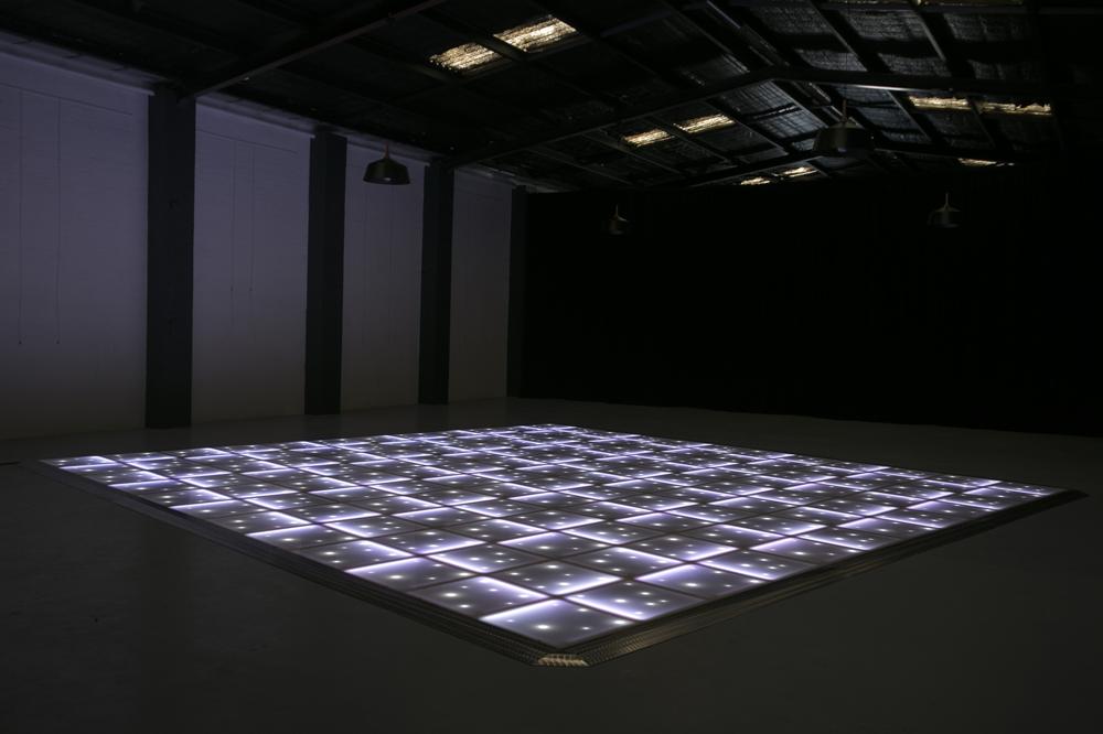 White LED with stars