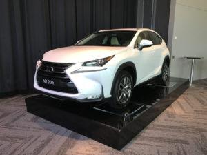Lexus car display