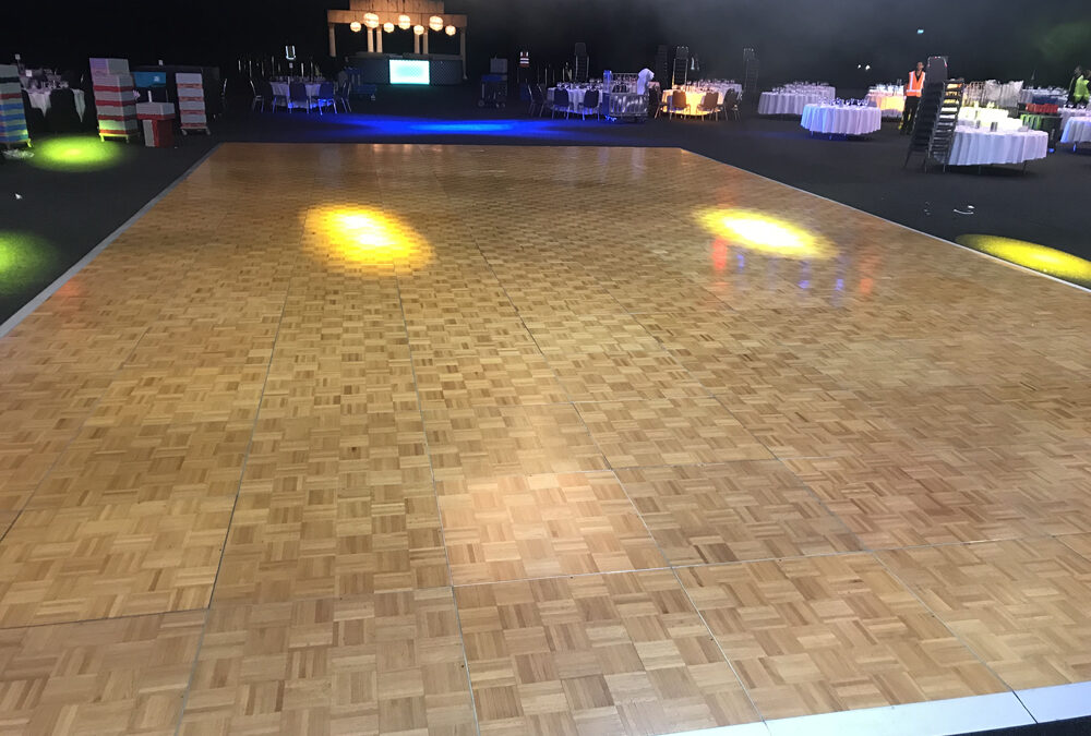 Dance floor for Awards Night at Perth Convention Centre