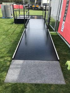 Acrod wheelchair ramp