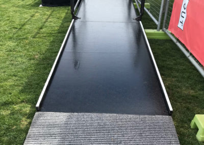 Acrod wheelchair ramp