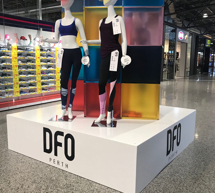 Stage for product display
