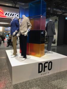 Display stage at DFO