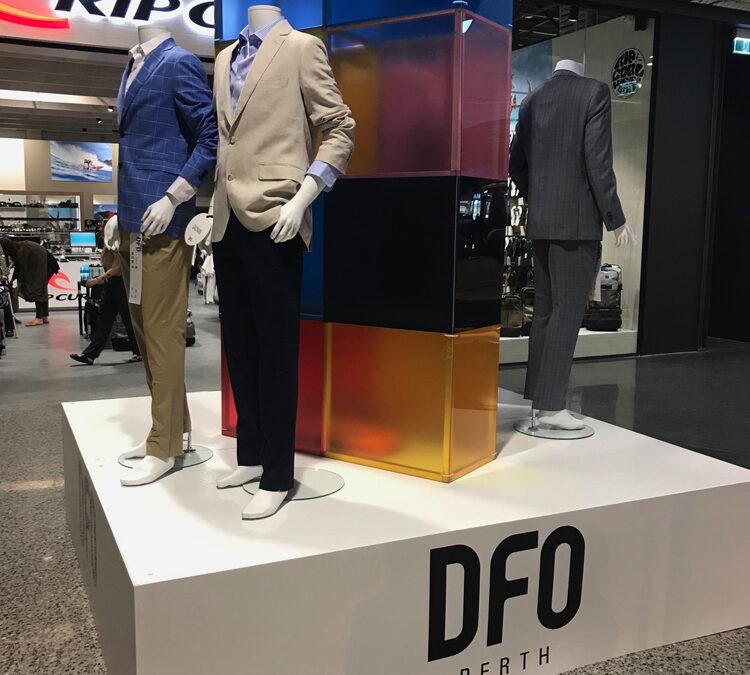 Display stage at DFO