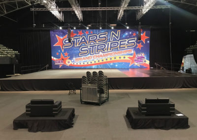 Stars n Stripes Grand Championships Stage at HBF Stadium
