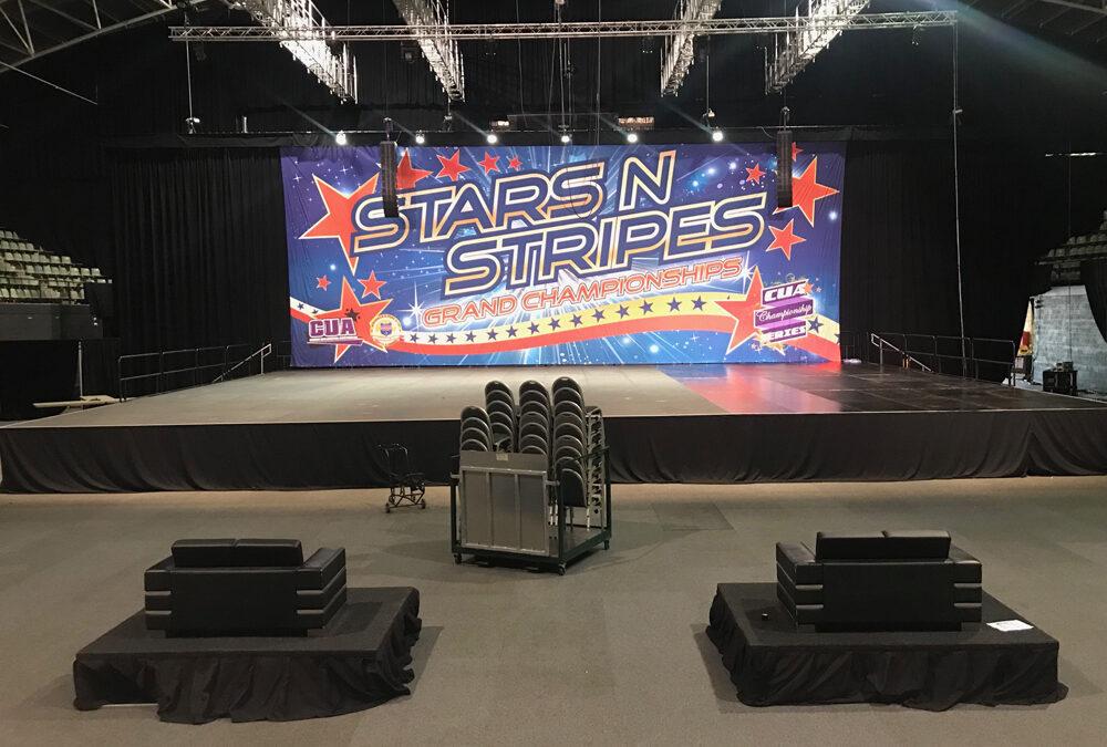 Stars n Stripes Grand Championships Stage at HBF Stadium