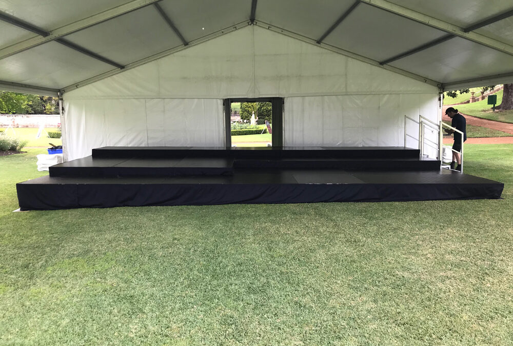 Stage at Government House