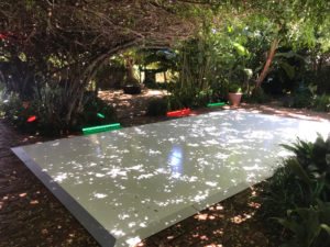 Outdoor dance floor