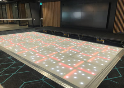 LED dance floor for Corporate event