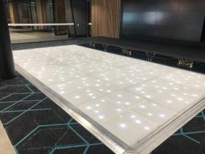 Corporate event dance floor