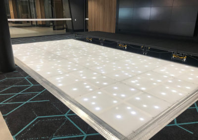 Corporate event dance floor