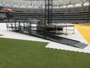 Eminem Concert Acrod Stage