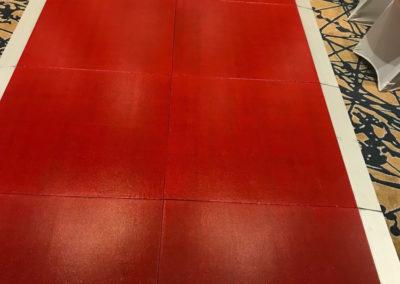 red gloss runway