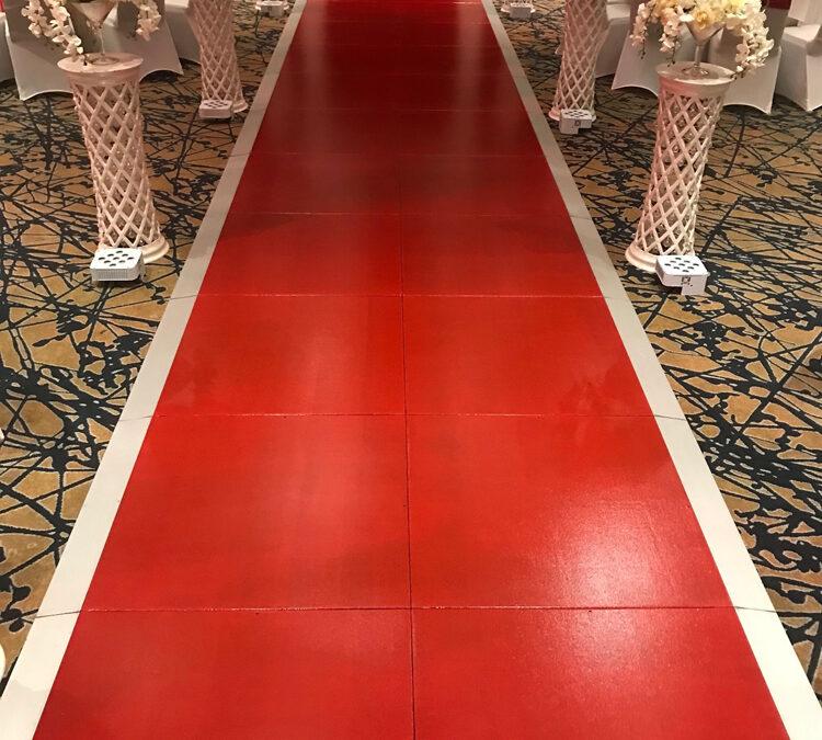 Red carpet substitute