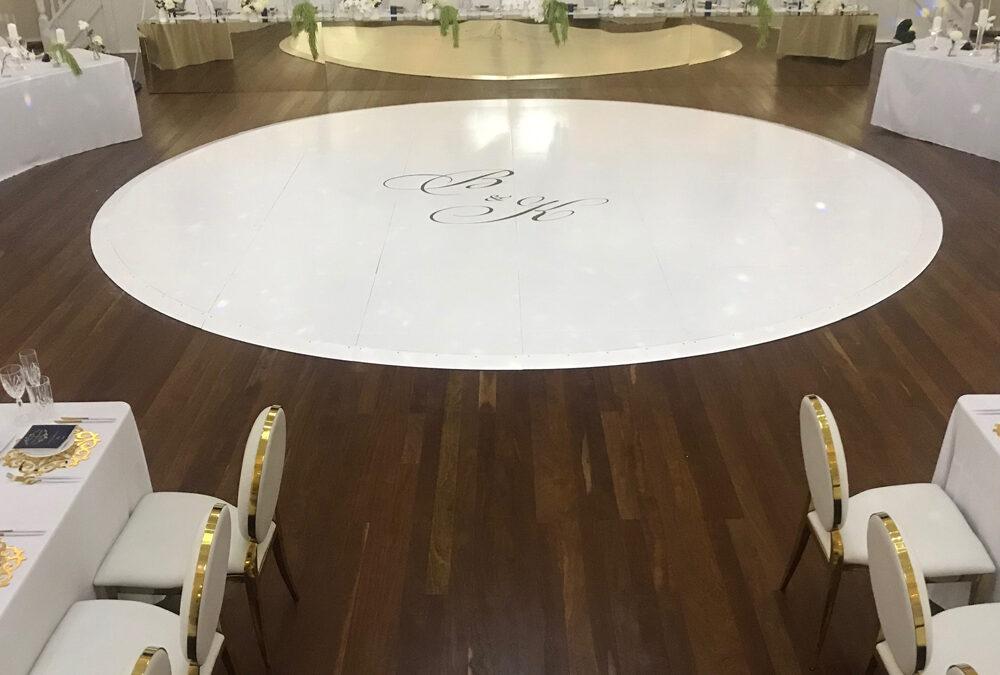 Dance Floor at Montgomery House