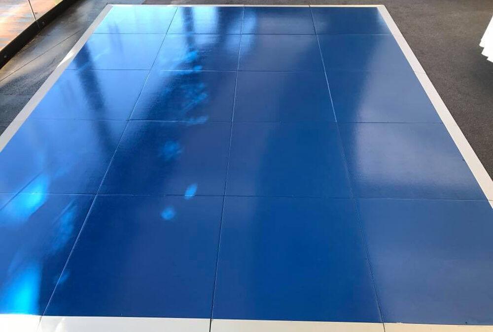 Gloss Blue dance floor